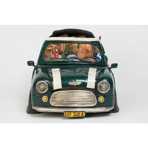 Forchino beeld Mini Cooper: My First Love Large