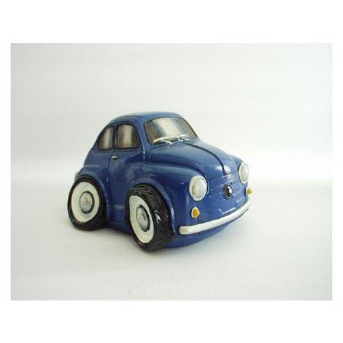 Spaarpot Fiat 600 blauw