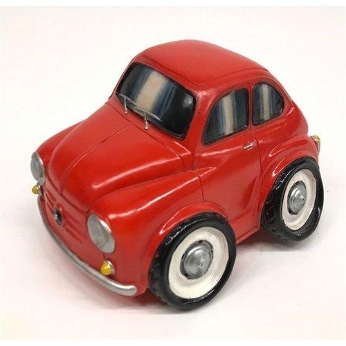 Spaarpot Fiat 600 rood