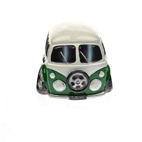 Spaarpot Volkswagen busje in groen en wit