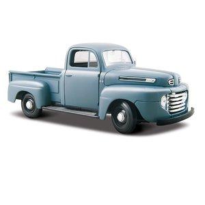 Ford F-1 Pick-up 1948 Grijs/Blauw 1:25