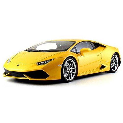Lamborghini Huracán LP610-4 geel 1:18