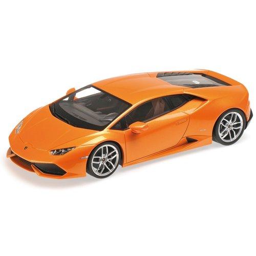 Lamborghini Huracán LP610-4 oranje 1:18