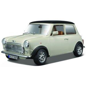 Mini Cooper 1969 1:18 creme/zwart