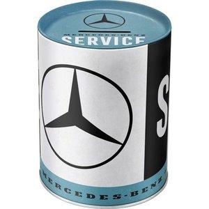 Mercedes-Benz Service blikken spaarpot