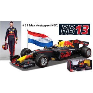 Red Bull RB13 Tag Heuer #33 Max Verstappen 2017 1:18