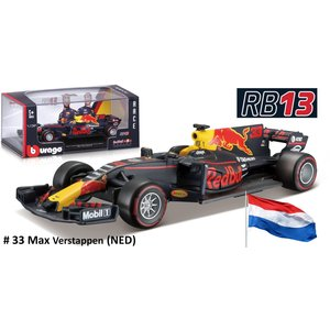 Red Bull RB13 Tag Heuer #33 Max Verstappen 2017 1:32