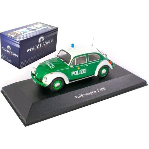 Volkswagen Kever 1200 Deutschland 1977 - Police Car Collection 1:43