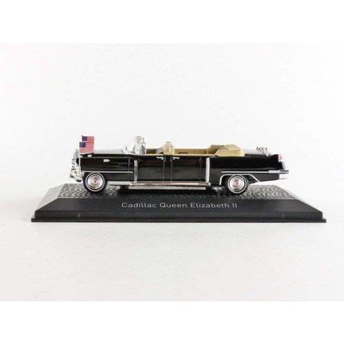 Cadillac Queen Elisabeth II 1956 zwart 1:43