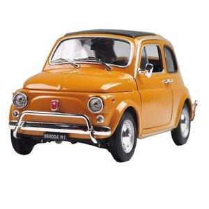 Fiat Nuova 500 1:18 geel