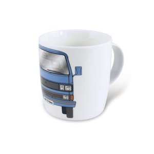 Volkswagen T3 Bus koffiemok 370ml – blauw