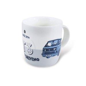 Volkswagen T3 Bus Blue Kaffeetasse 370ml - Keep Driving