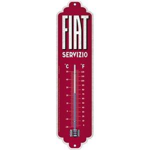Fiat Fiat Servizio metalen thermometer 28x6,5 cm