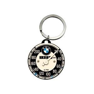 BMW Tachometer ronde metalen sleutelhanger Ø 4 cm