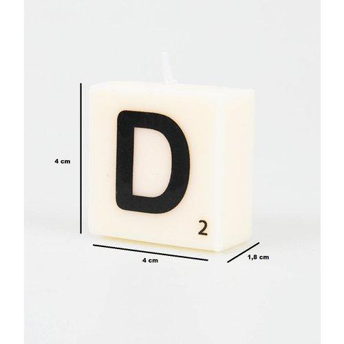 Letterkaarsje - D