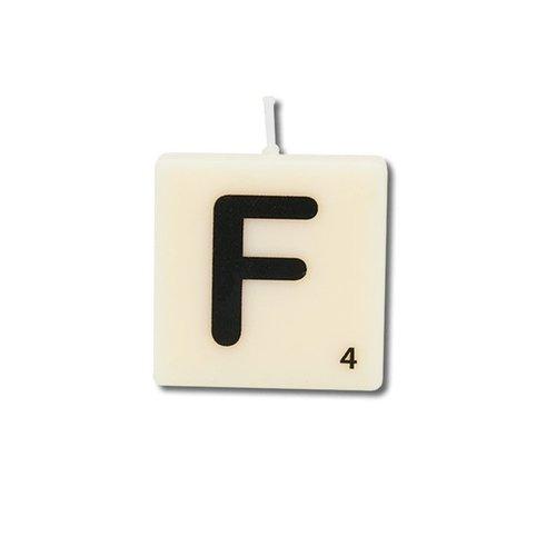 Letterkaarsje - F