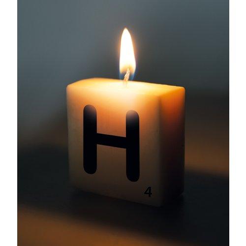 Letterkaarsje - H