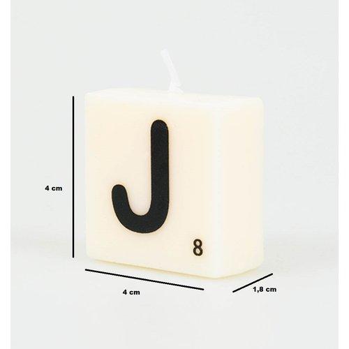 Letterkaarsje - J