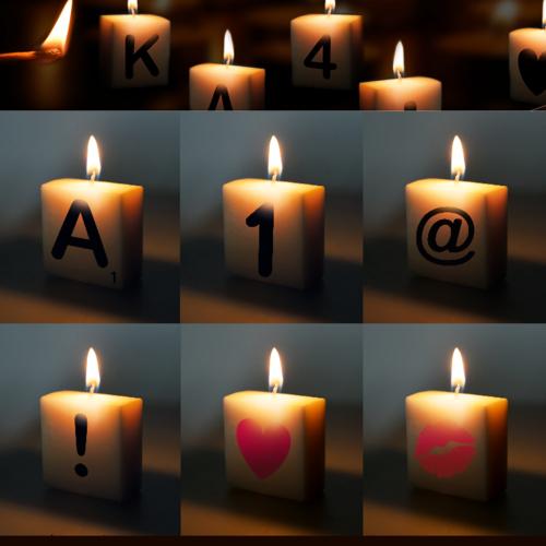 Letterkaarsje - M