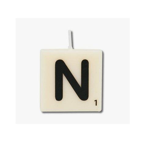 Letterkaarsje - N