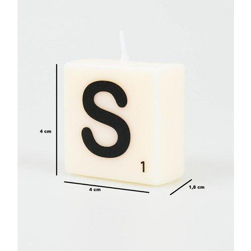 Letterkaarsje - S