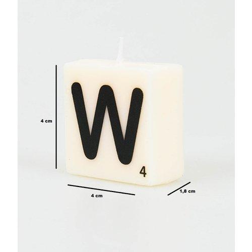 Letterkaarsje - W
