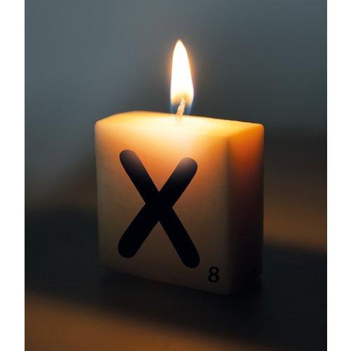Letterkaarsje - X