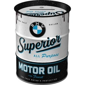 BMW Spardose Ölfass BMW - Superior Motor Oil
