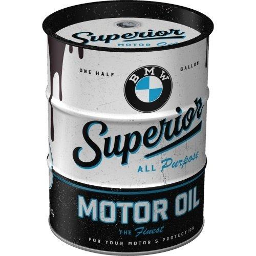 BMW Money Box Oil Barrel BMW - Superior Motor Oil