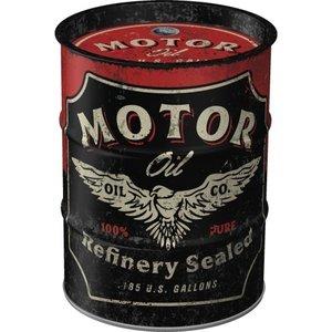 Spardose Ölfass Motor Oil