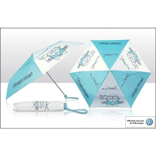 Volkswagen VW T1 Campervan Regenschirm faltbar