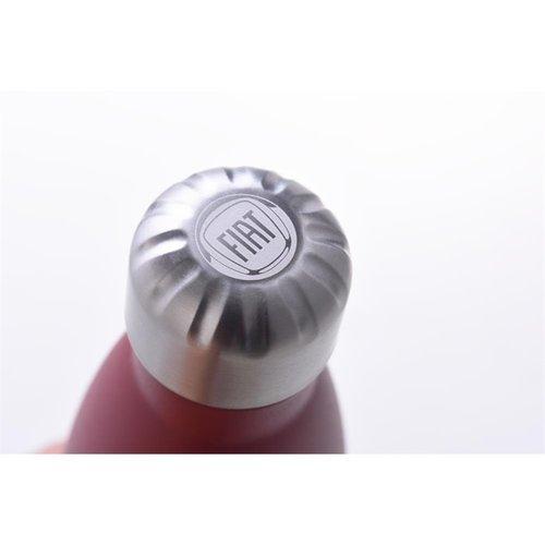 Fiat Fiat 500 geïsoleerde thermofles 500 ml – bordeauxrood