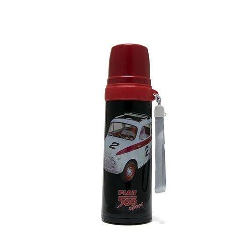 Fiat Fiat 500 Thermoskanne und Trinkbecher Sport 600 ml