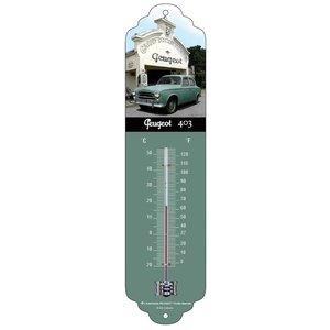 Peugeot Peugeot 403 metalen thermometer