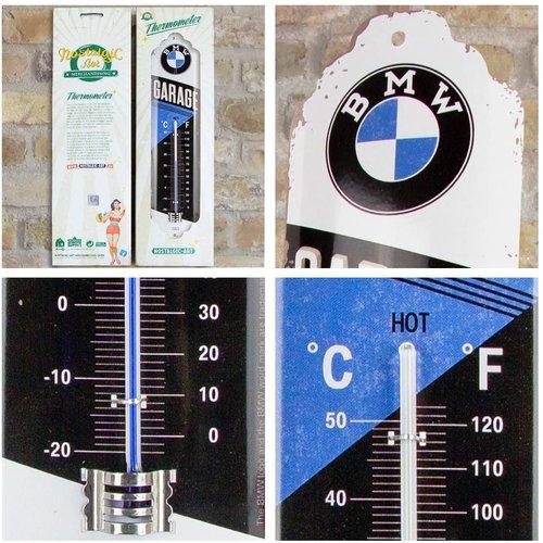BMW BMW Garage Metallthermometer 28x6,5 cm