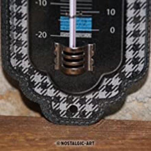 BMW BMW Pepita Metallthermometer 28x6,5 cm