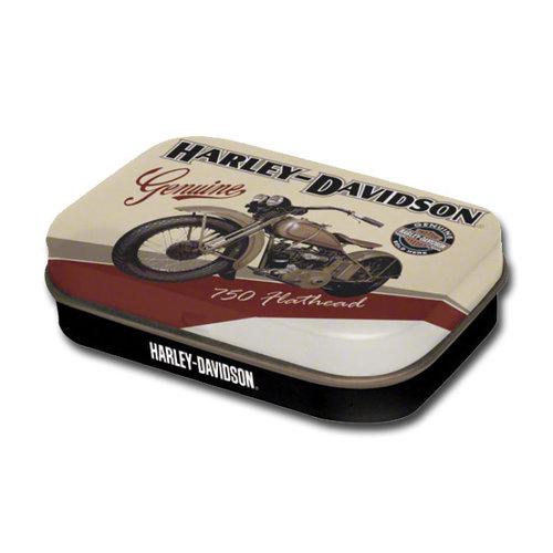 Harley Davidson Harley-Davidson Flathead Minzbox mit Retro-Design 4 x 6 x 1,6 cm