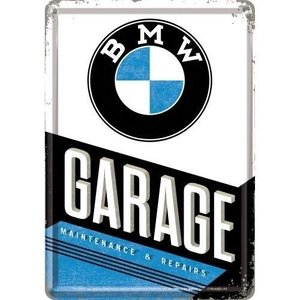 BMW BMW Garage Metalen Postcard 10x14 cm
