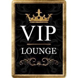 VIP Lounge Area Metalen Postcard 10x14 cm