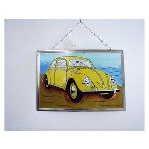 Volkswagen Volkswagen Käfer Fensterdekoration 21x30 cm