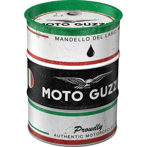 Spardose Ölfass Moto Guzzi Italienisch Motorrad Öl