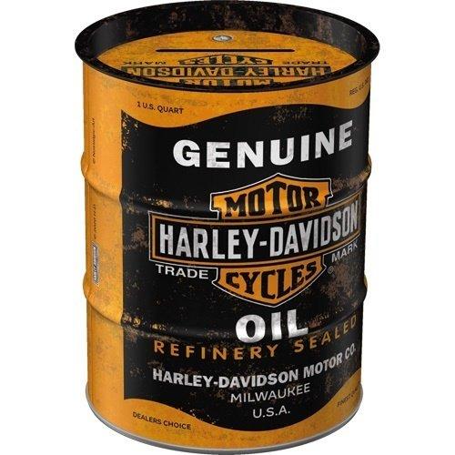Harley Davidson Spardose Ölfass Harley - Davidson - Genuine Oil