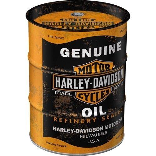 Harley Davidson Money Box Oil barrel Harley - Davidson - Genuine Oil