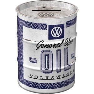 Volkswagen Spardose Ölfass VW - General Use Oil