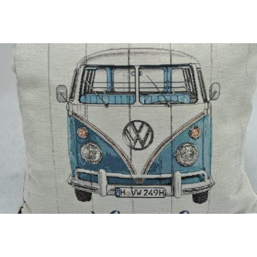 Volkswagen Volkswagen T1 Bus Life is an Adventure Dekokissen 45x45 cm