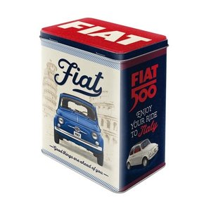 Fiat Vorratsdose Fiat 500 - Good things are ahead of you L