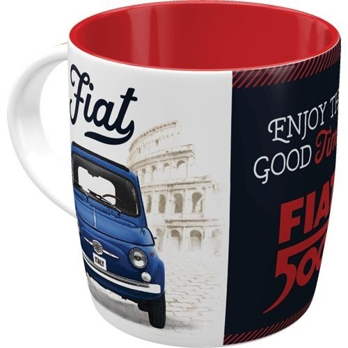 Fiat Becher Fiat 500 - Good things are ahead of you