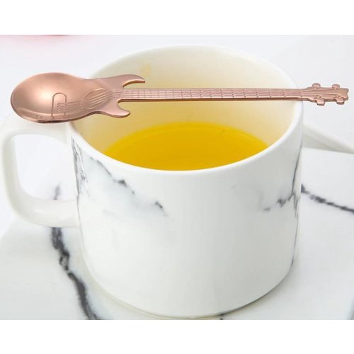 Gitarrenlöffel Edelstahl roségoldfarben