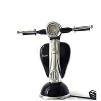 Vespa-Roller-Tischleuchte schwarz