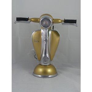 Vespa Vespa-Roller-Tischlampe goldfarben